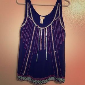 Take me out beaded tank